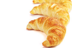 Group of croissants Royalty Free Stock Images