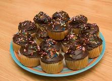Group of cupcakes Stock Photos