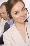 Group of customer service representativ Royalty Free Stock Image