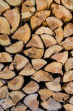 A group of cut tree trunks. For background Royalty Free Stock Photo
