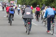 Group of cyclist Stock Photos