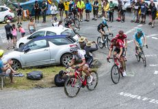 Group of Cyclists - Tour de France 2015 Royalty Free Stock Photos