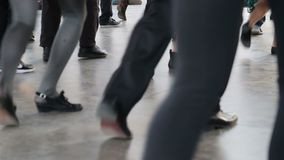 Group of dancing video stock video footage