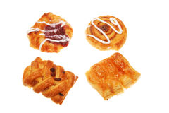 Group of Danish pastries Stock Image