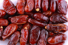 Group of dates stock images