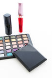 Group decorative cosmetics for makeup. Still life Stock Images