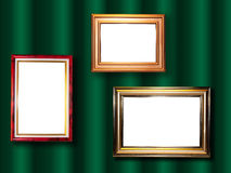 Group decorative frame for a photo Royalty Free Stock Photo