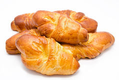 Group of delicious buns  Royalty Free Stock Image