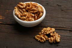 Group of delicious nuts in a bowl Stock Photos