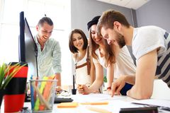 Group of designers Royalty Free Stock Image