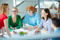 Group of designers Stock Image