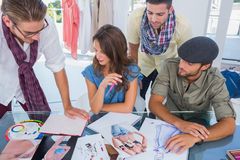 Group of designers working Stock Images