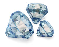 Group of diamonds Royalty Free Stock Photography