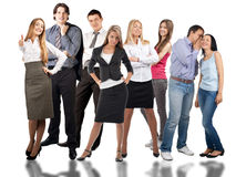 Group of different people Stock Photos