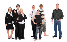 Group of different people Royalty Free Stock Image