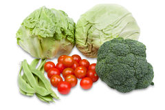 Group of different raw vegetables Stock Images