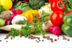 Group of different vegetables Royalty Free Stock Image