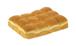 Group of dinner rolls royalty free stock photo