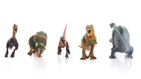 Group of dinosaur toy Royalty Free Stock Photos