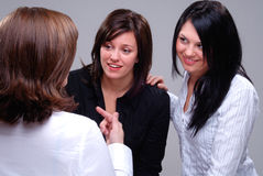 Group Discussion Royalty Free Stock Photo
