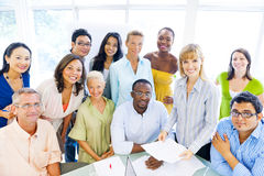 Group of Diverse Business Colleagues Royalty Free Stock Images