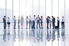 Group of Diverse Business People in the City Stock Images