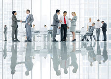 Group of Diverse Business People Discussing Together Stock Images