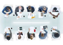 Group of Diverse Business People in a Meeting Stock Photos