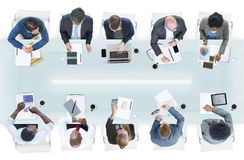 Group of Diverse Business People in a Meeting Royalty Free Stock Image