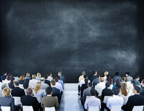 Group of Diverse Business People in a Seminar Royalty Free Stock Photo