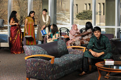 Group of Diverse College Students Royalty Free Stock Photo