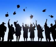 Group Of Diverse International Students Celebratin. G Graduation Royalty Free Stock Images