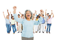 Group of Diverse Multi Ethnic People Stock Photos