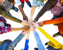 Group of Diverse Multiethnic People Teamwork Royalty Free Stock Images