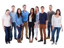 Group of diverse people stock image