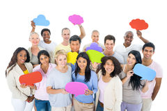 Group of Diverse People Sharing Ideas Stock Images