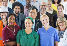 Group of Diverse People with Various Occupations Royalty Free Stock Photography