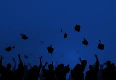 Group Of Diverse Students Celebrating Graduation Royalty Free Stock Image