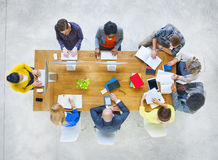 Group of Diverse Various Occupations People Meeting Stock Image