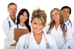 Group of doctors Stock Photography