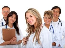 Group of doctors Royalty Free Stock Photos