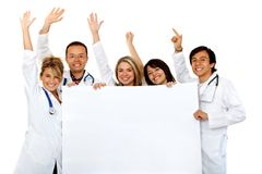 Group doctors Royalty Free Stock Image