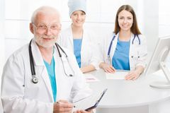 Group of doctors Royalty Free Stock Photography