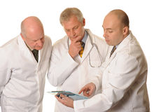 A Group of Doctors Royalty Free Stock Images