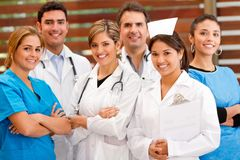 Group of doctors Stock Image