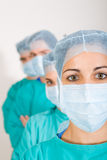 Group of doctors. Portrait of group of young doctors Royalty Free Stock Images