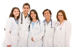 Group of doctors Royalty Free Stock Photo