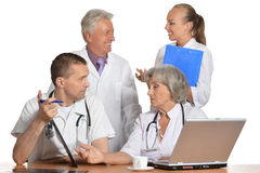 A group of doctors Royalty Free Stock Photography