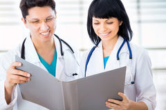 Group of doctors Stock Images