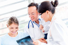 Group of doctors at the hospital Royalty Free Stock Photo